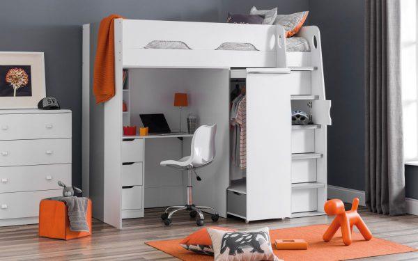 Pegasus Loft & Study Bed