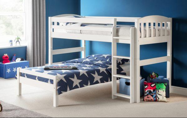 max l shaped bunk bed