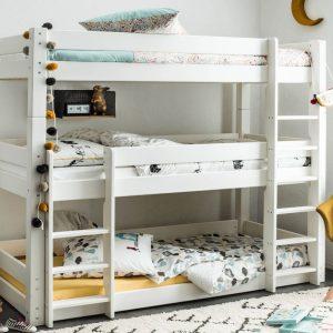 scandinavia triple bunk bed