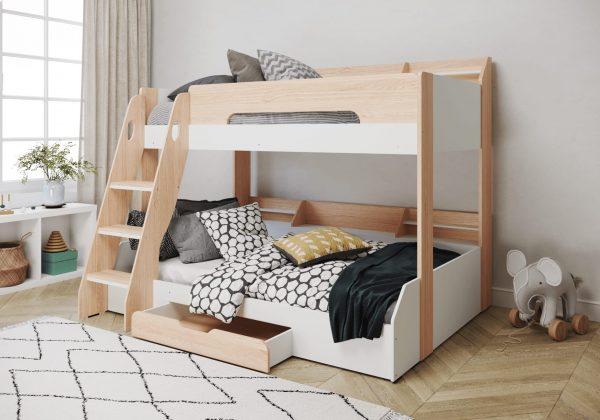 flair-furnishing-flick-triple-bunk-bed-oak