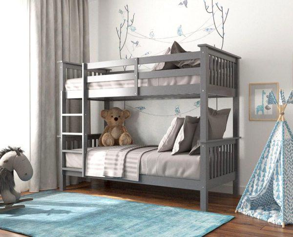Zoom Bunk Bed Grey