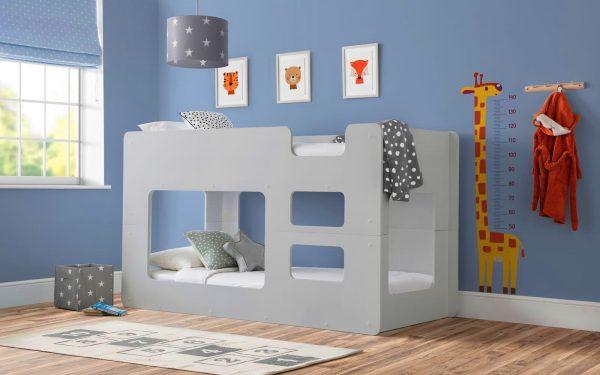 solar bunk bed grey
