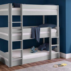 Trio Grey Bunk Bed
